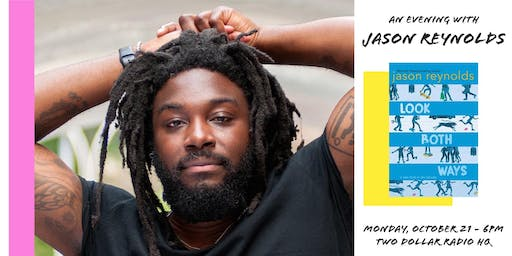 Jason Reynolds at Two Dollar Radio HQ
