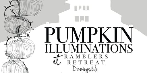 Ramblers Retreat Pumpkin Illuminations: 30th & 31st October 2019