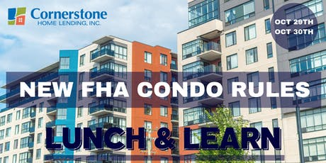 New FHA Codo rules: Lunch and Learn tickets