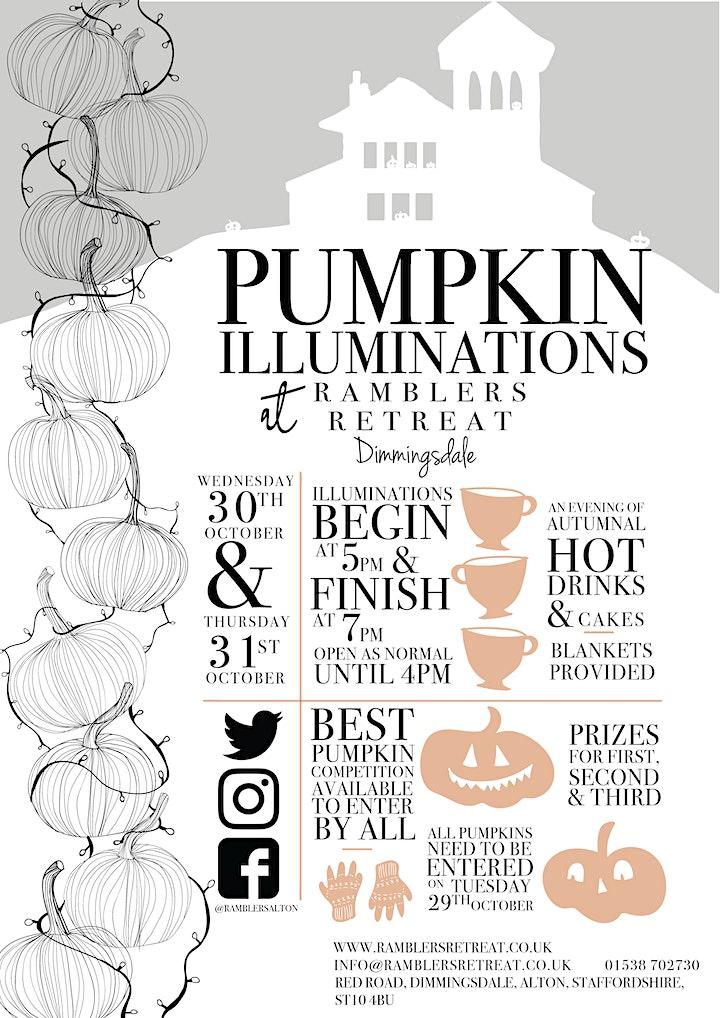Ramblers Retreat Pumpkin Illuminations: 30th & 31st October 2019 image