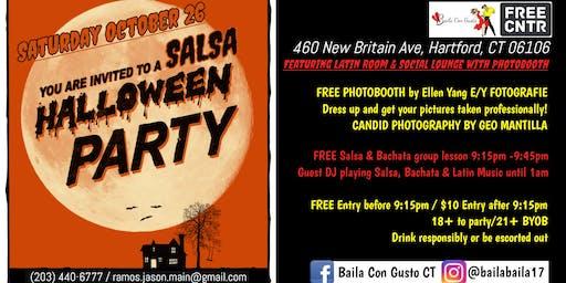 Baila Con Gusto Halloween Salsa Fiesta- BYOB Free Before 915pm