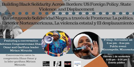 Building Black Solidarity Across Borders: U.S. Foreign Policy, State Violence, and Displacement tickets