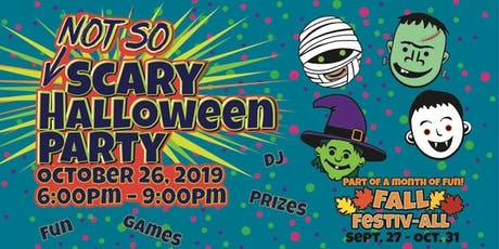 Not So Scary Halloween Party @ Adventure Park USA tickets