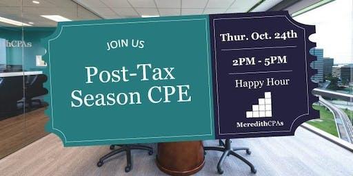 Post-Tax Season CPE Happy Hour