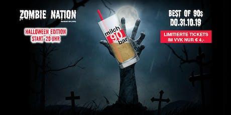 Milchbar90 Halloween Edition ab 20 Uhr - VVK Tickets 4 €! Tickets