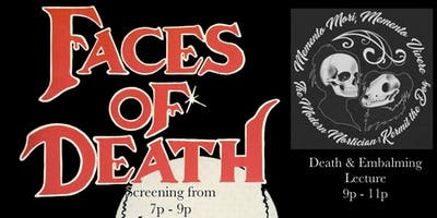 Faces of Death Screening & Mod Mortician Lecture
