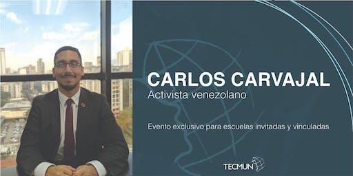 Sesión a escuelas invitadas con Carlos Carvajal