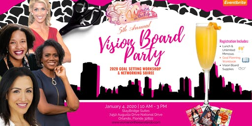 Vision Board Party - Women on the Rise Orlando