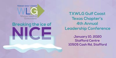 Breaking the Ice of Nice - TXWLG GCTC 2019 Leadership Conference