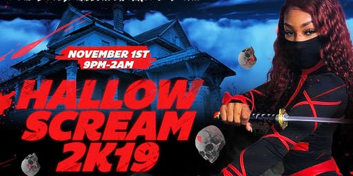 HALLOW SCREAM 2K19 - The Biggest Halloween Party of 2k19