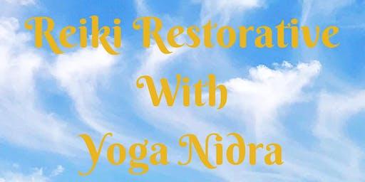 Reiki Restorative with Yoga Nidra