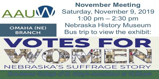 AAUW Omaha November Meeting