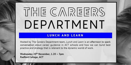 Lunch & Learn - The Careers Department tickets
