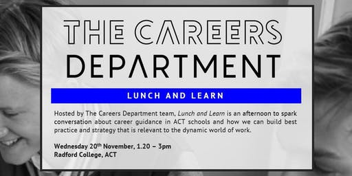 Lunch & Learn - The Careers Department