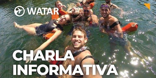 WATAR: Charla informativa Summer Camp USA  ✈