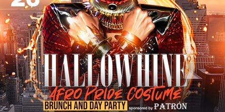 Hallowhine Afro Pride Brunch Day Party scorpio szn Flag fete at Taj Lounge nyc @Chase.Simms Simmsmovement sponsored by patron open bar tickets