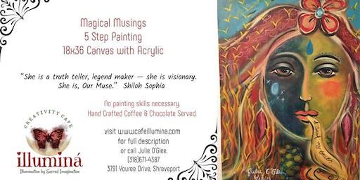 Magical Musings 5 Step Painting