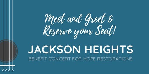 Meet & Greet with Reserved Seating
