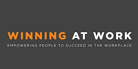 December Winning at Work Leadership Breakfast tickets