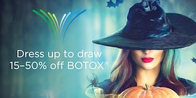 The Facial Center's Boo-tox Event
