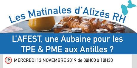 Les Matinales d'Alizés RH Guadeloupe billets