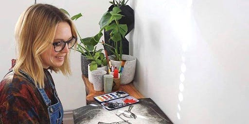 Artist In Action Series - Printmaking with Kate Piekutowski