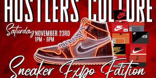 Hustlers Culture Sneaker Expo