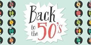 Back to the 50's Retreat - May 5-8, 2020