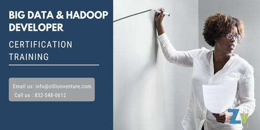 Big Data and Hadoop Developer Online Training in Temiskaming Shores, ON