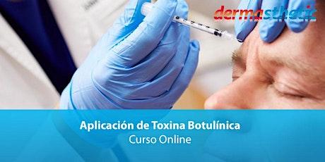 Curso Online de Toxina Botulínica 2020 entradas