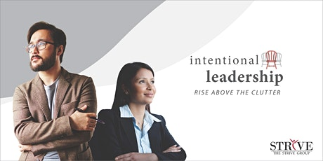 Intentional Leadership Spring 2020 tickets