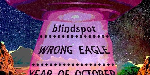 Year of October//blindspot//Wrong Eagle//live at Media Rerun