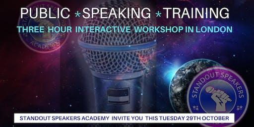 Public Speaking Training - StandOut Speakers Academy