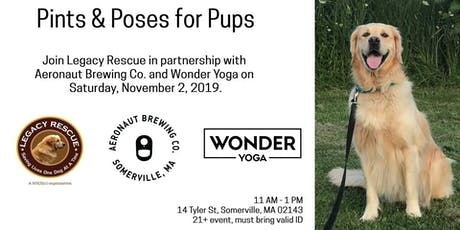 Pints & Poses for Pups tickets