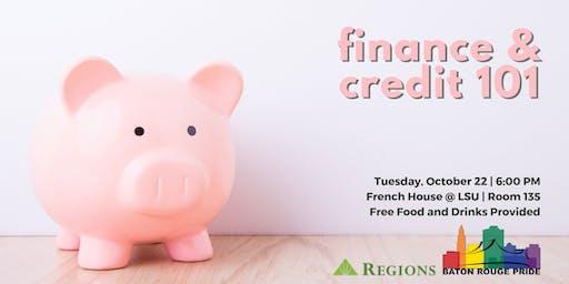 Credit & Finance 101 - A Baton Rouge Pride Educational Workshop