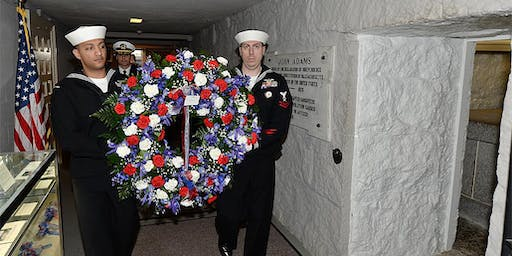 52nd  Annual Wreath-laying Ceremony for President John Adams