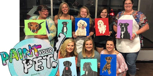 Paint Your Pet at Top Hat Winery