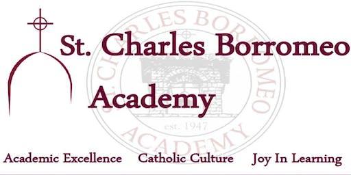 ST. CHARLES BORROMEO ACADEMY FALL OPEN HOUSE