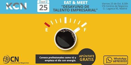 Desayuno Networking de Talento Empresarial en Madrid entradas