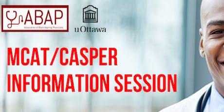 ABAP uOttawa: MCAT/Casper Information Night tickets