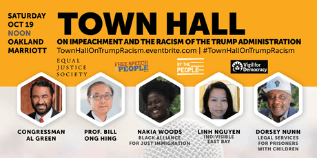 Town Hall on Impeachment and the Racism of the Trump Administration tickets