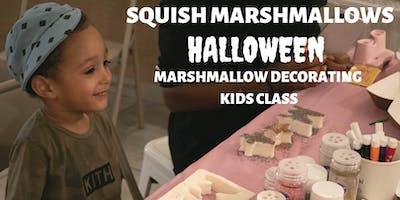 Halloween Marshmallow Decorating Kids Class