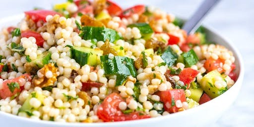 Whole Wheat Couscous Salad with Fresh Herbs
