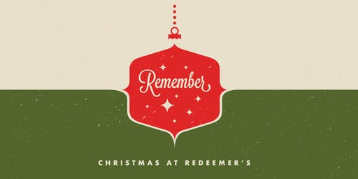 Christmas at Redeemer's