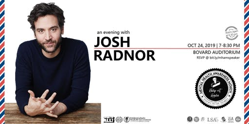An Evening with Josh Radnor