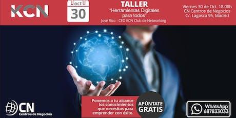 Taller de Herramientas Digitales para todos en Madrid entradas
