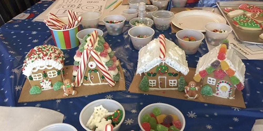 Mommy And Me Gingerbread House And Cookie Decorating Party Spring Hill