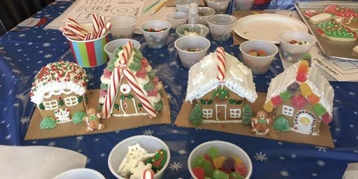 Mommy and Me Gingerbread House Party - Spring Hill