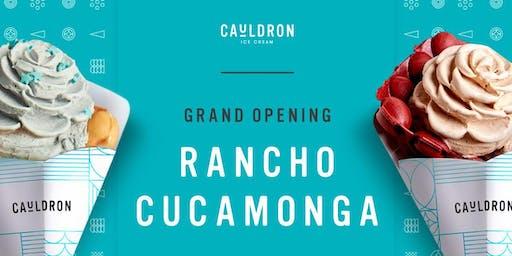 Cauldron Ice Cream Grand Opening | Rancho Cucamonga