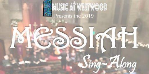 Music at Westwood presents:  Messiah Sing-Along 2019